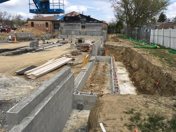View our progress photos of our building!