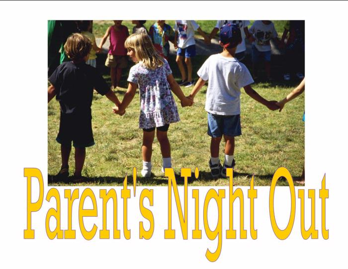Parent's Night Out- September