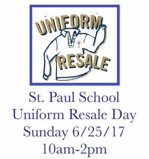 St Paul School Uniform Resale