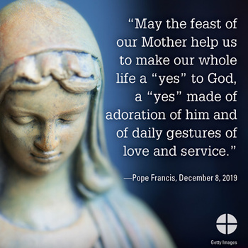 Solemnity of the Immaculate Conception Mass