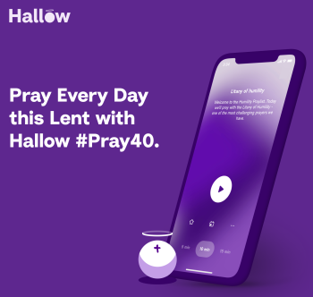 Join the #Pray40 Challenge