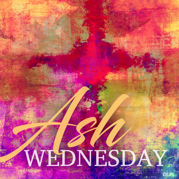 Ash Wednesday Communion Service with ashes