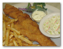 Image of fish fry dinner