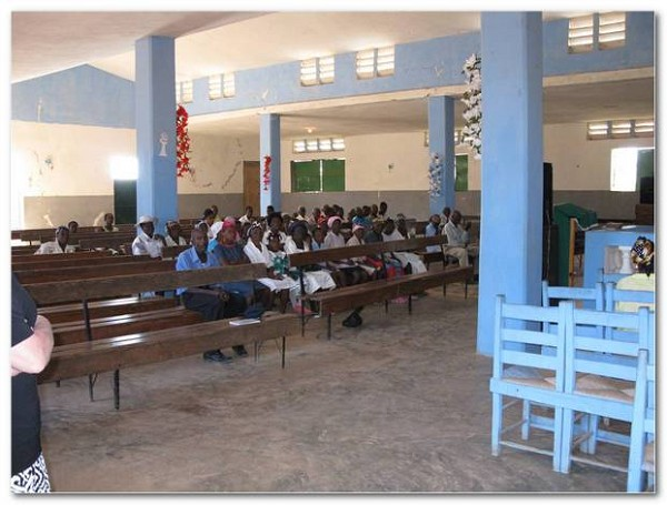 Image of the interior of the Haiti Mission