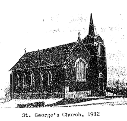 Image of Memorare Chapel in 1912