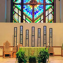 Stained Glass Altar Panels