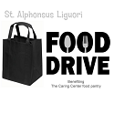 Black Bag Food Drive for The Caring Center