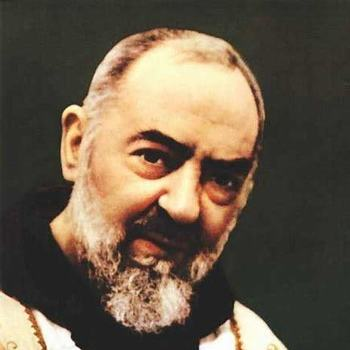 The Relics of St. Pio