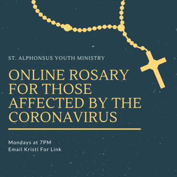 All Youth Rosary - Virtual Meeting