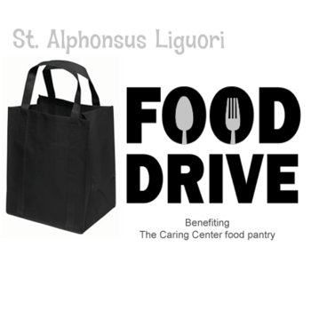 Quarterly Food Drive for The Caring Center