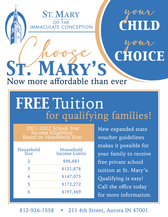 Choose St. Mary's