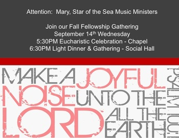 Fall Gathering - Music Ministry