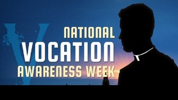 National Vocation Awareness Week November 5-11
