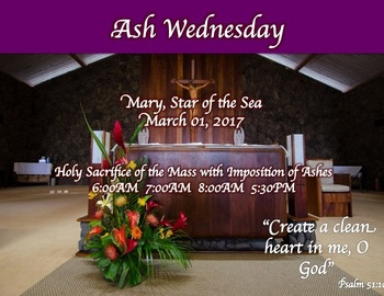 Ash Wednesday Reflection