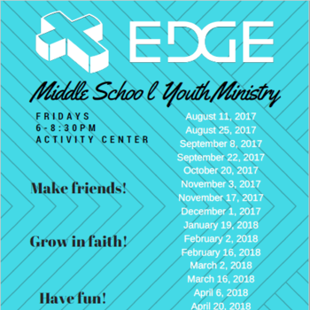 Edge Middle School Ministry