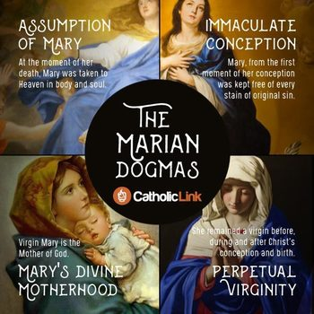 The Four Marian Dogmas Explained