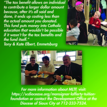 Monsignor Lafferty Tuition Assistance