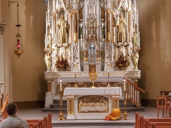 Adoration @ St Bernard - Jan 3 @ 7:00 - 8:00 p.m.