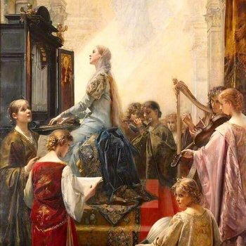 Nov 22nd Feast of St. Cecilia Patroness of Sacred Music