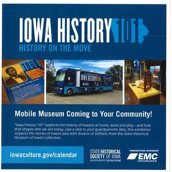 Iowa History 101 coming to OLMC 150th
