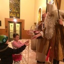 CHRISTMAS CELEBRATION BEGINS WITH THE ARRIVAL OF ST. NICHOLAS