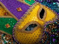 COME JOIN US AT THE ST. JOE'S MARDI GRAS PARTY FEB. 10