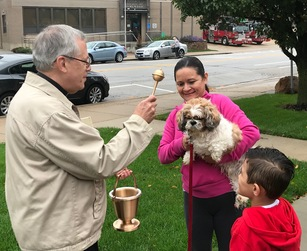 The Blessing of Pets at St. Joseph Parish