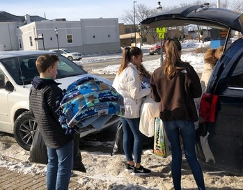 St. Joseph Youth Outreach Group - Blanket, Hats and Glove Drive for the Homeless