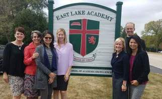 Visiting East Lake Academy in Chicago