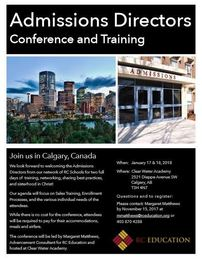 Join us in Calgary!