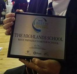 Congratulations to The Highlands School Best Private/Charter School in Irving!