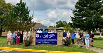 Royalmont Academy faculty and staff is ready for the 2020-2021 school year!