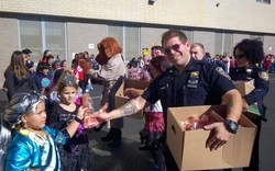 121st Precinct officers teach Halloween safety at Graniteville school