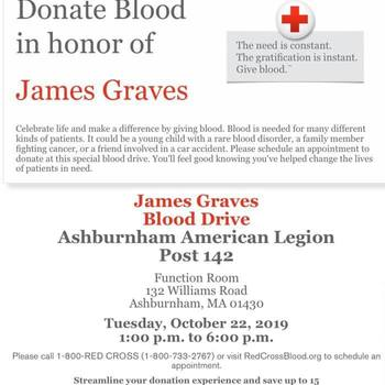Blood Drive - Deacon Jim Graves