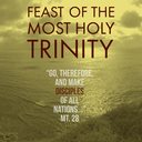 The Feast of the Most Holy Trinity: God is one God, three Divine Persons