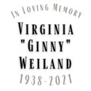 Obituary for Virginia Weiland