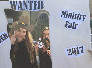 Ministry Fair Photo Booth