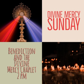 Divine Mercy Sunday: Experience mercy and share mercy