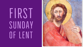 First Sunday of Lent: Who is at the center of your life?