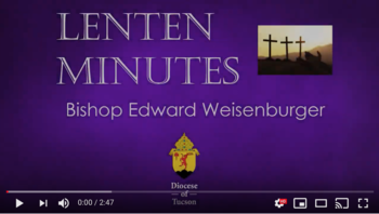 Ash Wednesday with Bishop Weisenburger