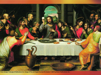 Holy Thursday, April 18 - Mass of the Lord's Supper