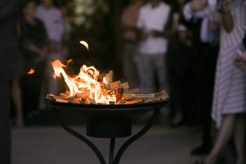 Third Sunday of Easter: The story of two charcoal fires