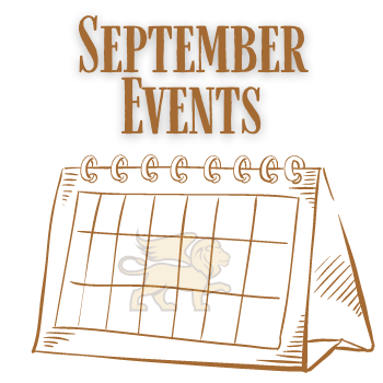 Virtual Events for September