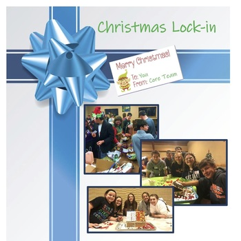 Registration Form Due 2020 Christmas Lock-In