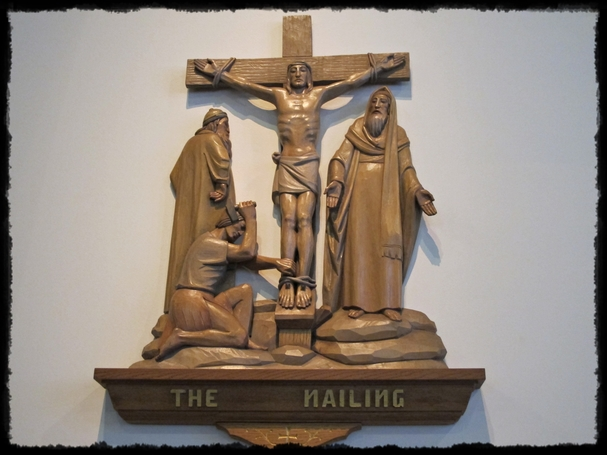 Jesus Nailed to Cross