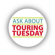 <div>  Our Fifth TOURING TUESDAY -   <br /> </div>