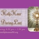 HOLY HOUR - Evenings - Families, Adults, Children