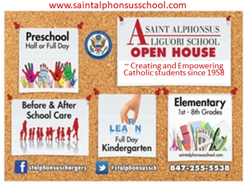 School OPEN HOUSE - Catholic Schools Week