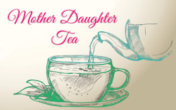 Mother-Daughter Tea: Dining Hall