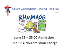 RUMMAGE SALE - No Admission Charge